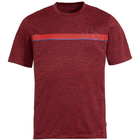 VAUDE Bracket T-Shirt Men, carmine